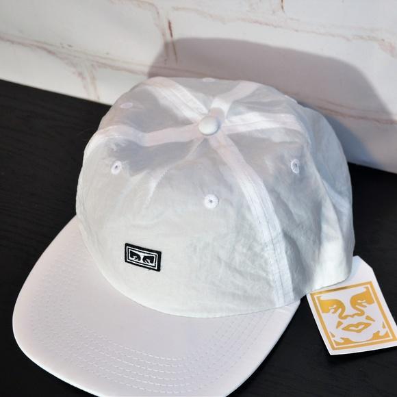 69cd1da12ca NEW White OBEY Ashbury Hat